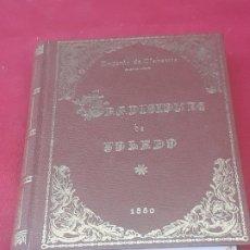 Libros de segunda mano: TRADICIONES DE TOLEDO -1880 - FACSIMIL EDITADO EN 1980.. Lote 222930950