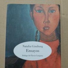 Libros de segunda mano: ENSAYOS ( NATALIA GINZBURG ). Lote 222938342