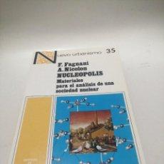Libros de segunda mano: F. FAGNANI , A. NICOLON - NUCLEOPOLIS. Lote 222948385