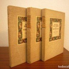 Libros de segunda mano: LLUÍS ALMERICH: HISTÒRIA DELS CARRERS DE LA BARCELONA VELLA. 3 VOLS. COMPLET (MILLÀ, 1949-1950). Lote 223016936