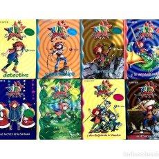 Libros de segunda mano: KIKA SUPERBRUJA - LOTE DE 9 LIBROS PACK KNISTER - BRUÑO KNISTER - DON QUIJOTE DE LA MANCHA. Lote 215269306