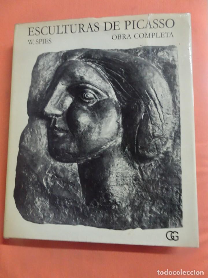 ESCULTURAS DE PICASSO – OBRA COMPLETA - W. SPIES - 1ª EDICIÓN 1971, GUSTAVO GILI , VER FOTOS (Libros de Segunda Mano - Bellas artes, ocio y coleccionismo - Otros)