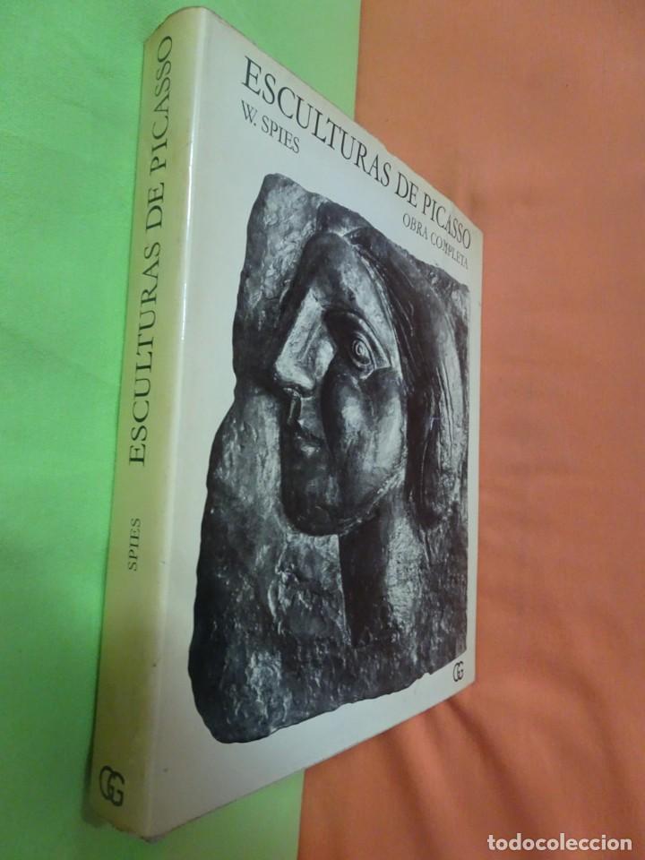 Libros de segunda mano: ESCULTURAS DE PICASSO – OBRA COMPLETA - W. SPIES - 1ª EDICIÓN 1971, GUSTAVO GILI , VER FOTOS - Foto 2 - 223219790