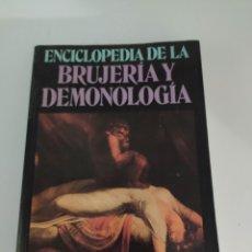 Libros de segunda mano: ENCICLOPEDIA DE BRUJERÍA Y DEMONOLOGIA .ROSSELL HOPE ROBBINS. Lote 223233406