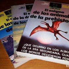 Livres d'occasion: LOTE 3 LIBROS COLECCIÓN ENIGMAS - EDT. LIBRO EXPRES - AÑOS 80.. Lote 91807145