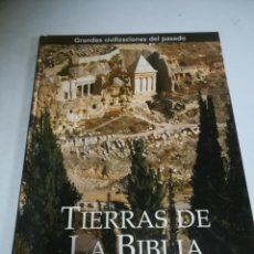 Livros em segunda mão: TIERRAS DE LA BIBLIA. JOHN ROGERSON. 2005. EDICIONES FOLIO. TAPA DURA. 256 PAGINAS. Lote 223299072