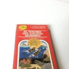 Libros de segunda mano: EL TESORO DEL GALEÓN HUNDIDO. ELIGE TU PROPIA AVENTURA, TIMUN MAS Nº 21, LIBRO JUEGO, ROL, JUGUETE. Lote 223485273