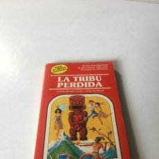Libros de segunda mano: LA TRIBU PERDIDA. ELIGE TU PROPIA AVENTURA, TIMUN MAS Nº 24, LIBRO JUEGO, ROL, JUGUETE, EGB. Lote 223485393