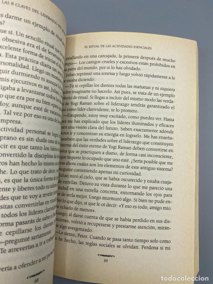 Libros de segunda mano: LAS 8 CLAVES DEL LIDERAZGO. ROBIN S. SHARMA. EDITORIAL DEBOLSILLO. 1ª ED. BARCELONA, 2003. PAGS:285 - Foto 3 - 223500061