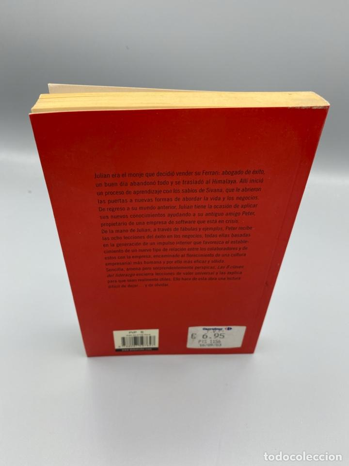Libros de segunda mano: LAS 8 CLAVES DEL LIDERAZGO. ROBIN S. SHARMA. EDITORIAL DEBOLSILLO. 1ª ED. BARCELONA, 2003. PAGS:285 - Foto 4 - 223500061