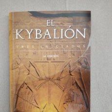 Livros em segunda mão: EL KYBALION TRES INICIADOS. Lote 223525587