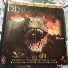 Libros de segunda mano: DINOSAURIOS, DE DOUGLAS DIXON. POP UP, 3D, DESPLEGABLES. ESCASO. BRUÑO.. Lote 223275660