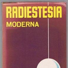 Libros de segunda mano: RADIESTESIA MODERNA ANTOINE LUZY. Lote 223530686