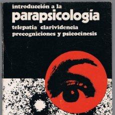 Libros de segunda mano: INTRODUCCIÓN A LA PARAPSICOLOGÍA J. ROCA MUNTAÑOLA. Lote 223530833