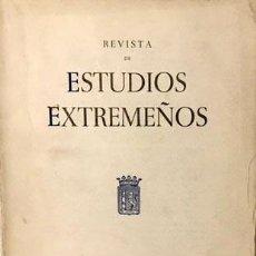Libros de segunda mano: VIDA ECONÓMICA DE BADAJOZ A MEDIADOS DEL S XVIII, SEGÚN EL CATASTRO DE ENSENADA. ESTUDIOS EXTREMEÑOS. Lote 223654763