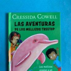 Libros de segunda mano: LIBRO. MCDONALDS. LAS AVENTURAS DE LOS MELLIZOS TREETOP. Nº3. LOS MELLIZOS AYUDAN A UN DELFIN ROSADO. Lote 223283553