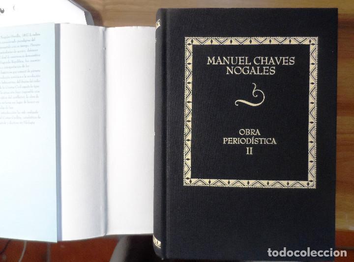 Libros de segunda mano: Manuel Chaves Nogales. Obra periodística. Tomo II. Área de Cultura de la Diputación de Sevilla. 2001 - Foto 4 - 223791176