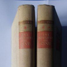 Libros de segunda mano: UNA HISTORIA DEL CINE – 2 TOMOS - ÁNGEL ZÚÑIGA – DESTINO, 1948 – 1ª EDICIÓN. Lote 223987147