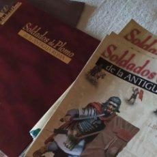Libros de segunda mano: SOLDADOS DE LA ANTIGUA ROMA. 50 FASCICULOS EN DOS TOMOS.. Lote 223999387