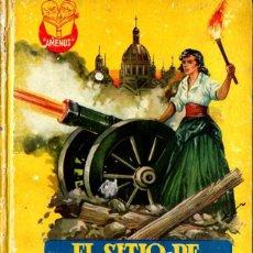 Libros de segunda mano: EL SITIO DE ZARAGOZA (AMENUS, C. 1950). Lote 224079736