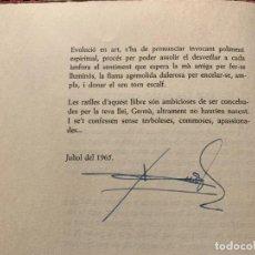 Libros de segunda mano: ÚNICO. 1966. SUMA D´AURORES. FRANCESC SALVADOR HERAS. SIGNAT I DEDICAT PER L´AUTOR. BARCELONA. Lote 224079933