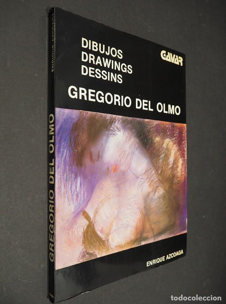 GREGORIO DEL OLMO. DIBUJOS. POR ENRIQUE AZCOAGA. EDITORIAL GAVAR 1980 (Libros de Segunda Mano - Bellas artes, ocio y coleccionismo - Otros)
