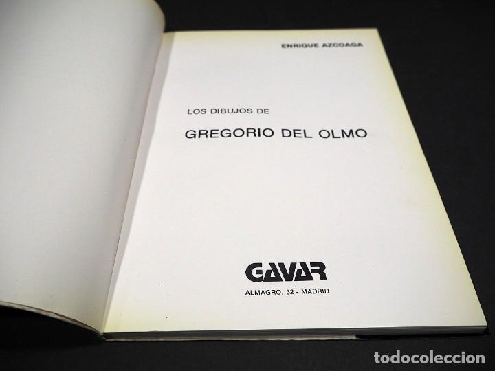 Libros de segunda mano: Gregorio del Olmo. Dibujos. Por Enrique Azcoaga. Editorial Gavar 1980 - Foto 2 - 224091935