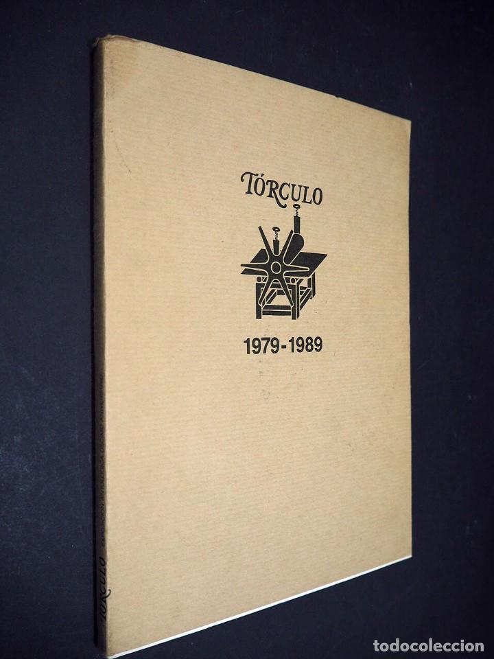 TÓRCULO 1979 - 1989. EXPOSICIÓN ANTOLÓGICA DEL DÉCIMO ANIVERSARIO DE LA GALERÍA GRÁFICA TÓRCULO (Libros de Segunda Mano - Bellas artes, ocio y coleccionismo - Otros)