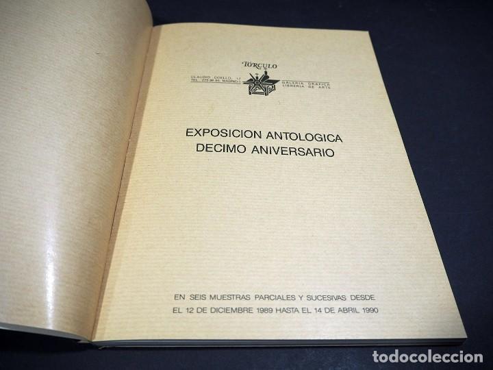 Libros de segunda mano: Tórculo 1979 - 1989. Exposición antológica del décimo aniversario de la galería gráfica Tórculo - Foto 2 - 224095215