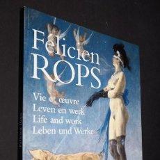Libros de segunda mano: FELICIEN ROPS. LIFE AND WORK. STICHTING KUNSTBOEK. 1997.. Lote 224095528