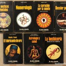 Libros de segunda mano: LOTE DE 7 LIBROS COLECCIÓN LA OTRA CIENCIA. EDICIONES MARTÍNEZ ROCA.. Lote 276374453