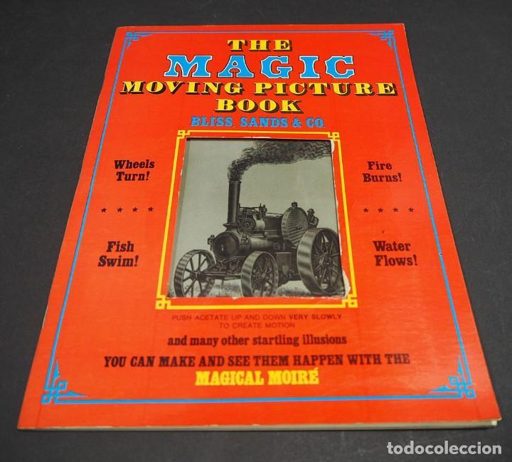 Libros de segunda mano: THE MAGIC MOVING PICTURE BOOK. BLISS, SANDS & CO. DOVER PUBLICATIONS. - Foto 2 - 224168885