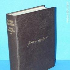 Libros de segunda mano: OBRAS COMPLETAS, TOMO II: OBRAS DRAMÁTICAS, OBRAS LÍRICAS .-SHAKESPEARE, WILLIAM. Lote 224218042