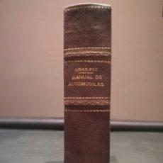 Libros de segunda mano: MANUAL AUTOMÓVILES - ARIAS PAZ - 33 EDICIÓN - EDITORIAL DOSSAT S.A. 1965. Lote 224225880