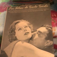 Libros de segunda mano: LIBRO LOS FILME DE GRETA GARBO. Lote 224237558