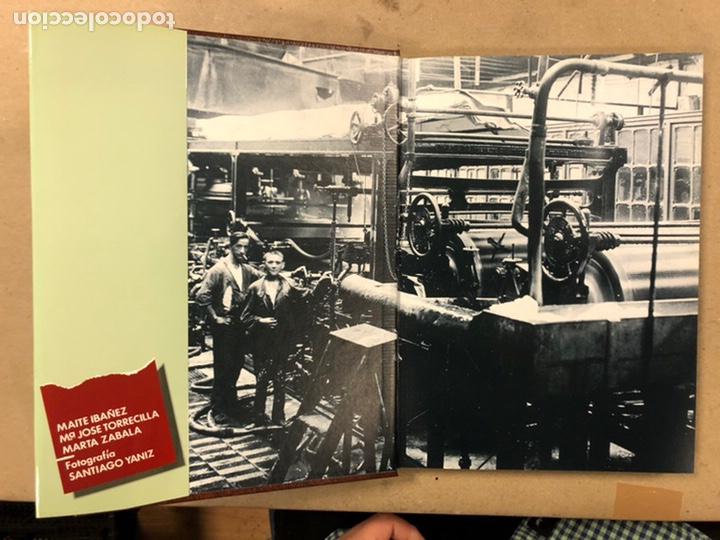 Libros de segunda mano: ARQUEOLOGÍA INDUSTRIAL EN GIPUZKOA. VV.AA. EDITA: GOBIERNO VASCO - UNIVERSIDAD DEUSTO - AGFA 1990 - Foto 3 - 224294672