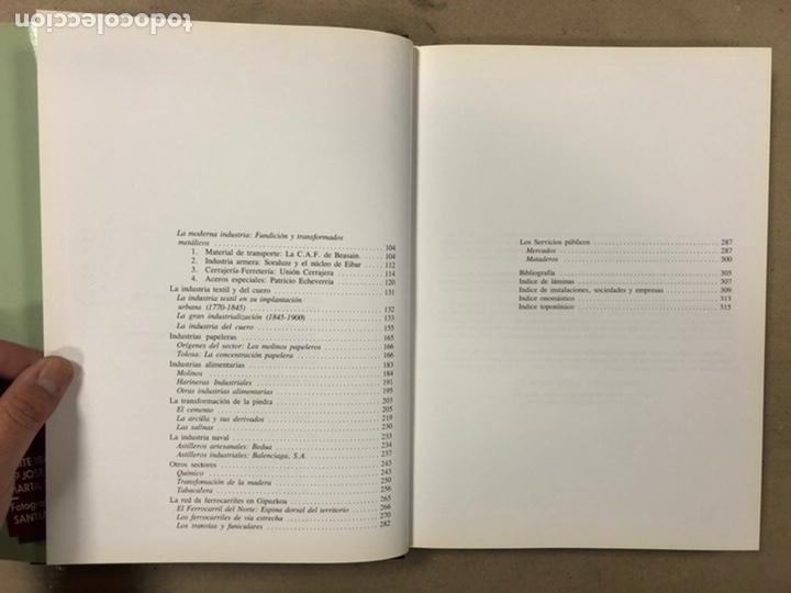 Libros de segunda mano: ARQUEOLOGÍA INDUSTRIAL EN GIPUZKOA. VV.AA. EDITA: GOBIERNO VASCO - UNIVERSIDAD DEUSTO - AGFA 1990 - Foto 6 - 224294672