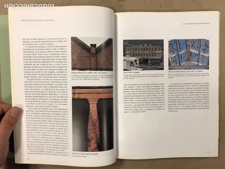 Libros de segunda mano: ARQUEOLOGÍA INDUSTRIAL EN GIPUZKOA. VV.AA. EDITA: GOBIERNO VASCO - UNIVERSIDAD DEUSTO - AGFA 1990 - Foto 8 - 224294672