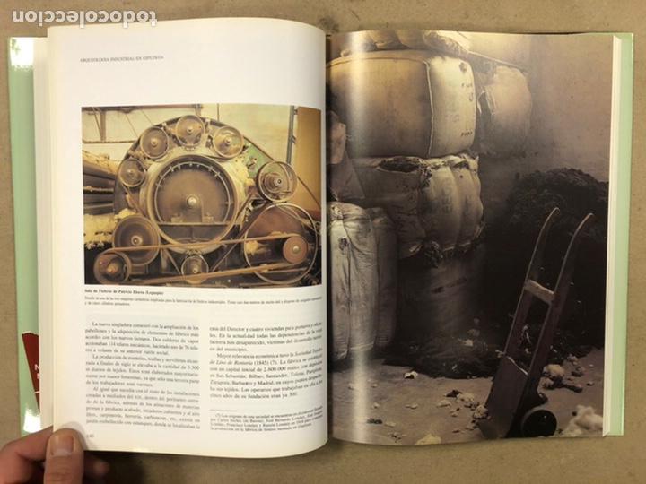 Libros de segunda mano: ARQUEOLOGÍA INDUSTRIAL EN GIPUZKOA. VV.AA. EDITA: GOBIERNO VASCO - UNIVERSIDAD DEUSTO - AGFA 1990 - Foto 10 - 224294672
