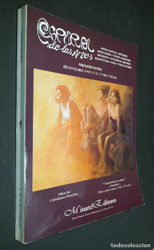 ESPIRAL DE LAS ARTES. AÑO III, VOLUMEN IV, Nº 15/16/17 .1995 (Libros de Segunda Mano - Bellas artes, ocio y coleccionismo - Otros)