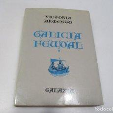 Libros de segunda mano: VICTORIA ARMESTO GALICIA FEUDAL II Q3763T. Lote 224451408