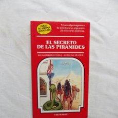 Libros de segunda mano: EL SECRETO DE LAS PIRAMIDES DE RICHARD BRIGHTFIELD Y ANTHONY KRAMER. Lote 224499902