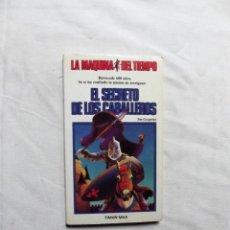 Libros de segunda mano: EL SECRETO DE LOS CABALLEROS DE JIM CARPERINE. Lote 224500785