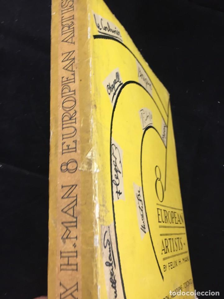 Libros de segunda mano: 8 European Artists Braque, Chagall, Leger, Le Corbusier, Matisse, Moore, Picasso and Sutherland 1954 - Foto 2 - 224509106