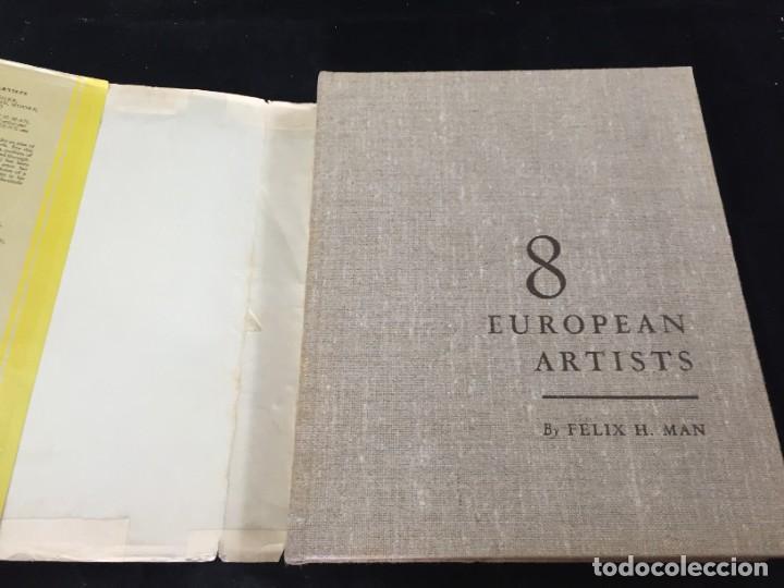 Libros de segunda mano: 8 European Artists Braque, Chagall, Leger, Le Corbusier, Matisse, Moore, Picasso and Sutherland 1954 - Foto 3 - 224509106