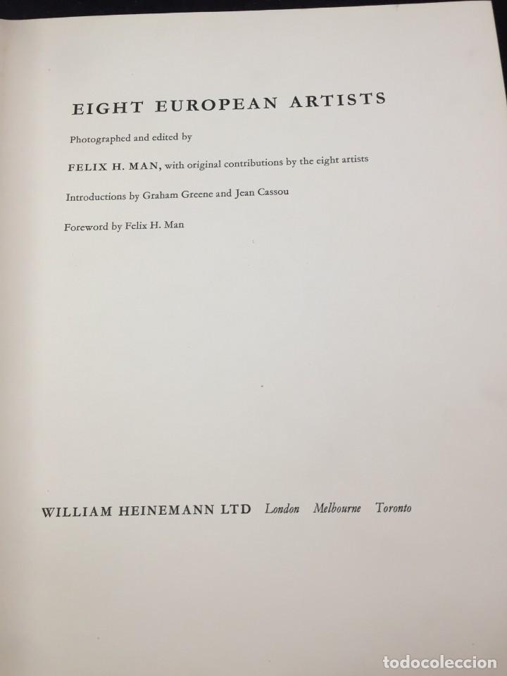 Libros de segunda mano: 8 European Artists Braque, Chagall, Leger, Le Corbusier, Matisse, Moore, Picasso and Sutherland 1954 - Foto 4 - 224509106