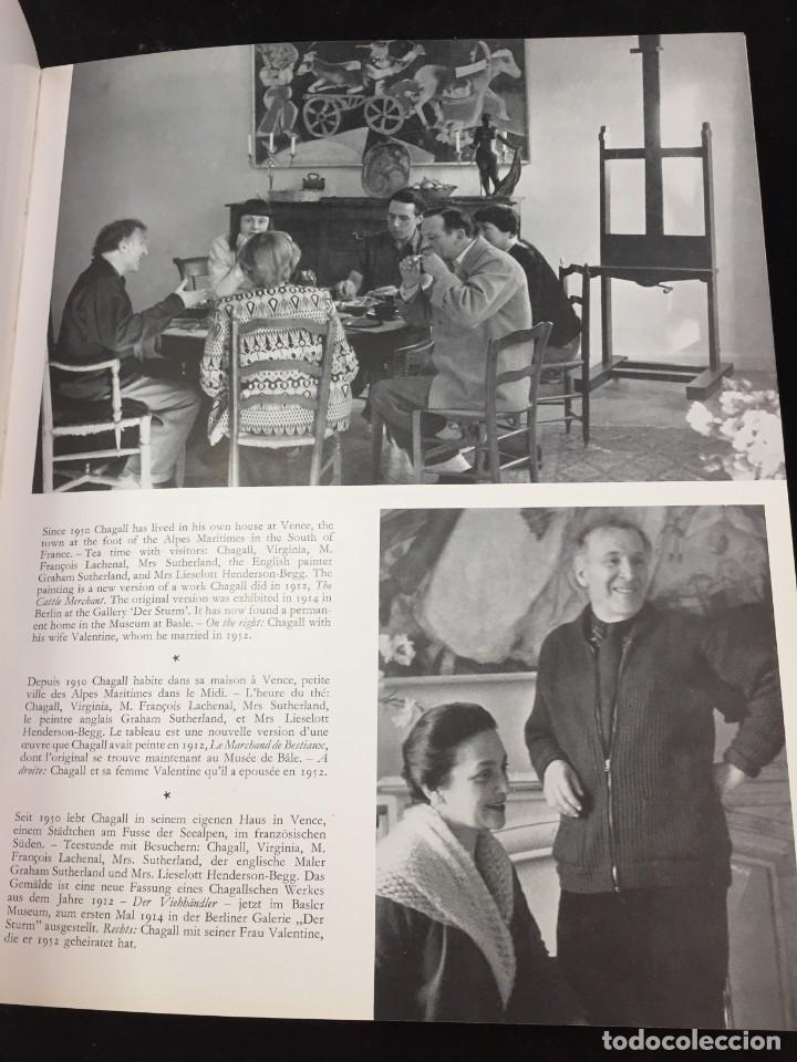 Libros de segunda mano: 8 European Artists Braque, Chagall, Leger, Le Corbusier, Matisse, Moore, Picasso and Sutherland 1954 - Foto 16 - 224509106