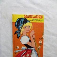 Libros de segunda mano: MINICLASICOS TOMO 1 DE MARIA PASCUAL. Lote 224515952