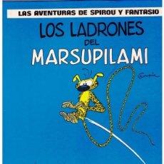Libros de segunda mano: LAS AVENTURAS DE SPIROU Y FANTASIO LOS LADRONES DE MARSUPILAMI. Lote 224527596