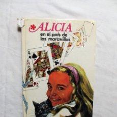 Libros de segunda mano: ALICIA EN EL PAIS DE LAS MARABILLAS PUBLICACION FHER. Lote 224615713